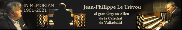 disponibles en CD:   10 Improvisaciones por Jean Philippe Le Trévou