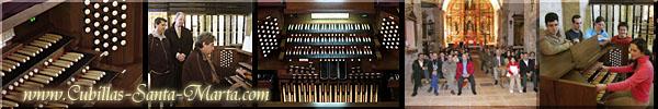 El nuevo Órgano de Conciertos instalado  en la Iglesia de Cubillas de Santa Marta (Valladolid