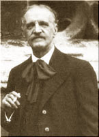 Compositor francés Louis Vierne (1870-1937)